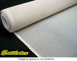 Tecido Talagarça Grossa Estilotex 1m X 1,40m