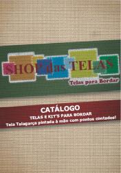 SUPER LANÇAMENTO 200 Páginas!!! Catálogo Físico de Telas e Kit