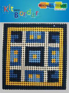 Kit para bordar R. 4205 Material:Kit Ponto Cruz Duplo;