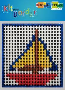Kit para bordar R. 3103 Material:Kit Ponto Cruz Simples;